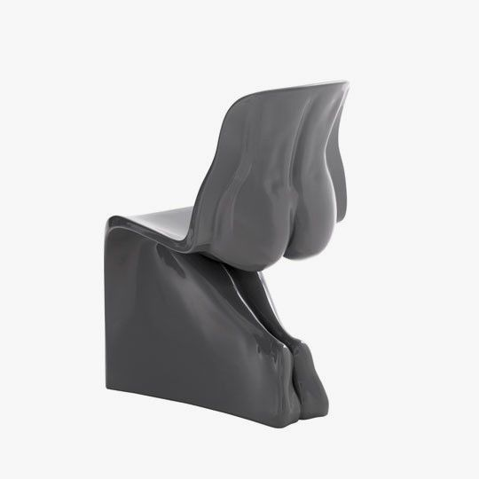 Nice Unique Chair That Shaped Like Human Body Photo