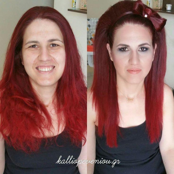 #makeup #makeuptransformations #hair #hairexperts #hairstyle #hairdressing #hairsalon #hairtransformation #kalliopeveniou #beunique #behindthechair #modernsalon #becausewecan #instabeauty #makemepretty