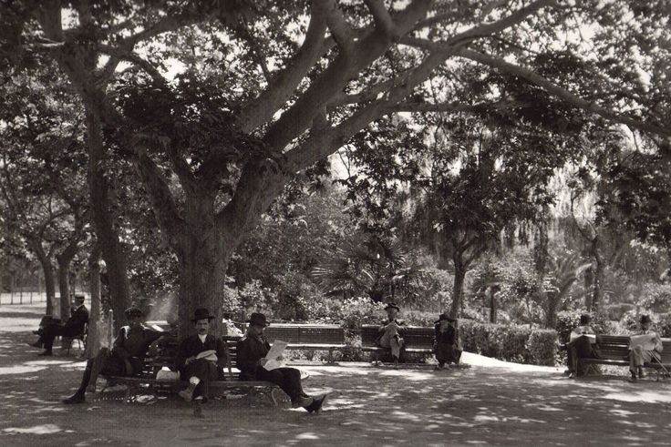 Εθνικός κήπος 1920