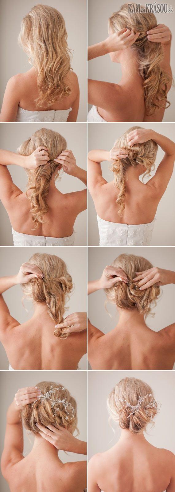 Trendy účes pre dlhé vlasy