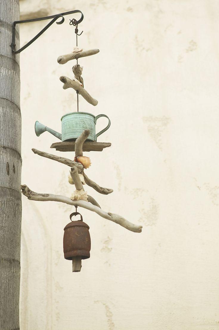 Ideias fáceis para sinos de vento caseiros