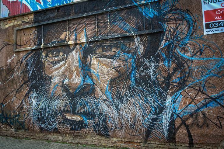 mural - bender - freiraumgalerie halle / saale