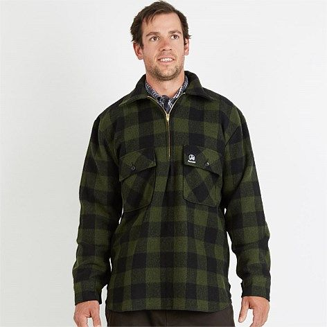 Swanndri Men's Ranger Wool Shirt