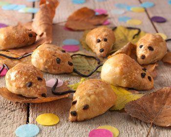 Inspiratie nodig voor een traktatie? Maak deze gevulde muizen met appel!