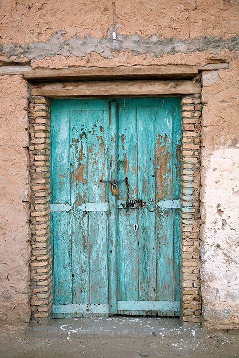 Puerta de entrada, Oasis de Chebika. Tunez, Tunisie. © Inaki Caperochipi Photography