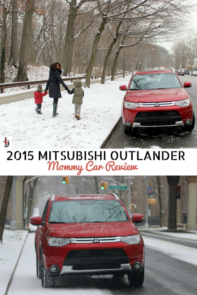 2015 Mitsubishi Outlander Review for families. Safety and performance features for moms - Rattles & Heels