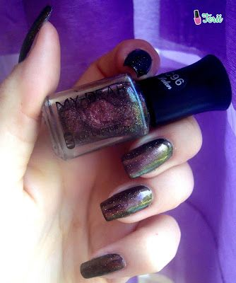 Kolorowy Świat Terii: Lakier od BPS Shimmer Starry Sky Polish Nail Art P...