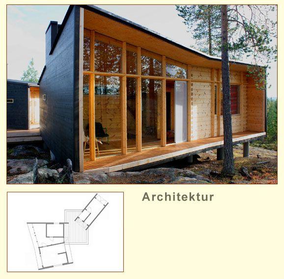 Mer enn 25 bra ideer om Blockhaus bauen på Pinterest - küche selber bauen aus holz