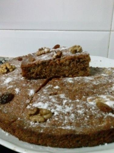 Bizcocho de galletas, nueces y pasas para #Mycook http://www.mycook.es/receta/bizcocho-de-galletasnueces-y-pasas/