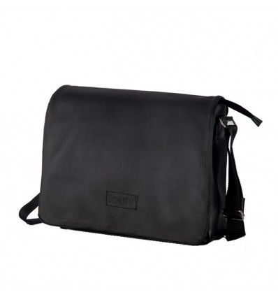 Solier Men High Eco-Leather Messenger Sholulder Bag - S11
