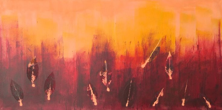 Out of Fire, 100 x 50 cm