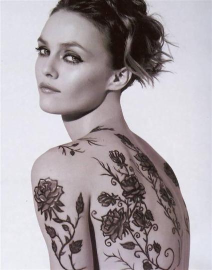 Tatouage Vanessa Paradis