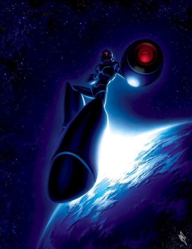 Epic Megaman Fan art!!!