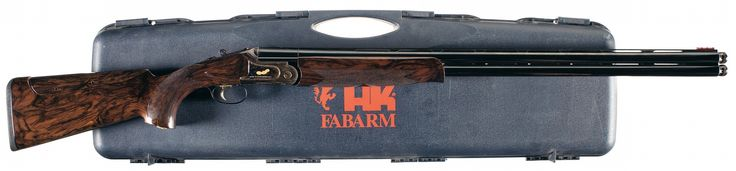 Fabarm Heckler & Koch Sporting Clays Max Lion Over -Under Shotgun with Case