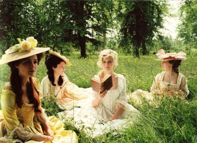 i love kirsten dunst, and marie antoinette and versailles. therefore sofia coppola made a great movie.