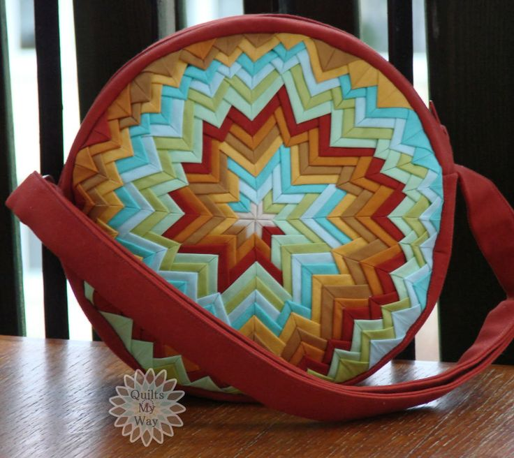 Interesting Spiral design for a Shoulder bag