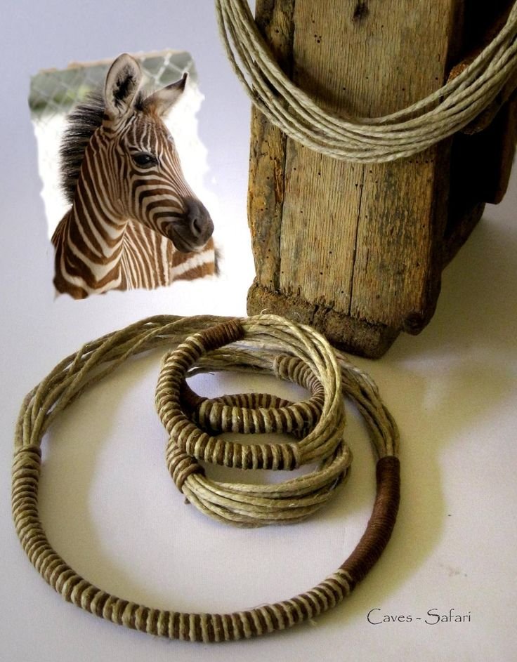 Caves jewellery - Safari bracelet und necklace
