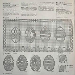 Szydełkomania: Wielkanoc пасха