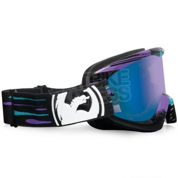 Dragon MDX Motocross Goggles - Paint Drip Blue Ionized