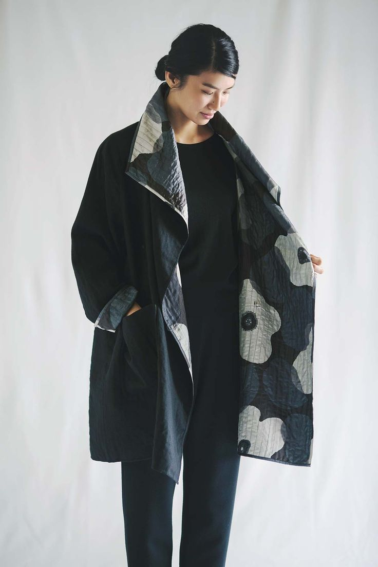 Jurgenlehl etc, Jurgen Lehl and Babaghuri Official blog | Coat Made of Tusser Silk and Wool