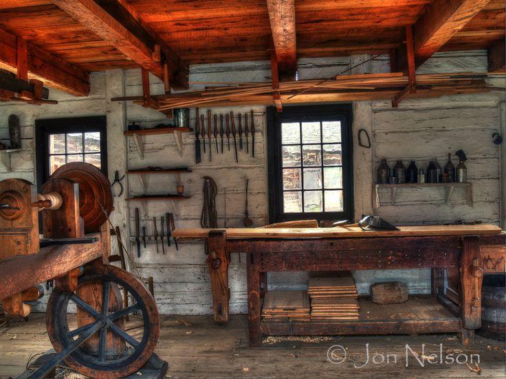 Old Fort Woodshop Shop In 2019 Woodworking Garage