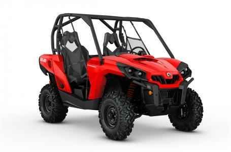 New 2017 Can-Am Commander ATVs For Sale in North Carolina. 2017 CAN-AM , Honda, Sea-Doo & Can-Am of Winston-Salem In Stock 2017 Can-Am Commander - Viper Red New Viper Red Excellent Clean 6CHA Engine Type 71 hp, Rotax, V-twin Displacement 799.9 cc Cooling Liquid Fuel System Intelligent Throttle Control (iTC) with Electronic Fuel Injection (EFI) Front Suspension Double A-arm with sway bar Front Brakes Dual 214 mm ventilated disc brakes with hydraulic twin-piston calipers Front Tire Maxxis…