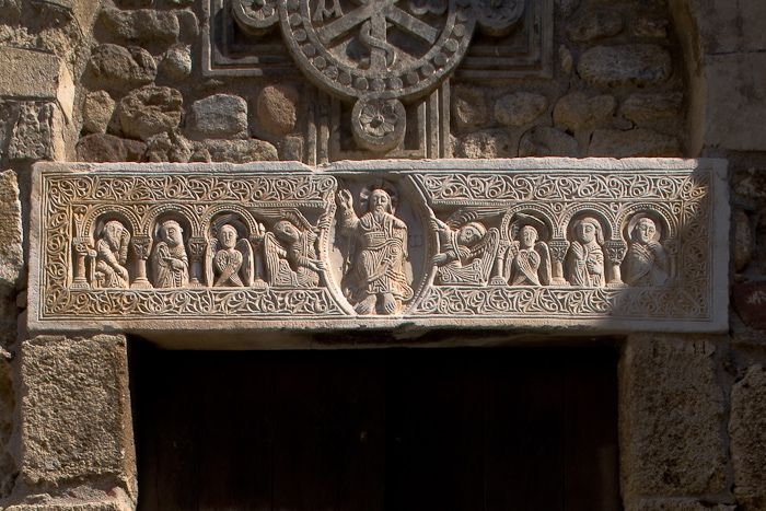 Saint André de Sorede, Sorede (Pyrénées-Orientales)  Photo by Dennis Aubrey