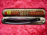"Taylors1000 Vintage straight Razor Taylor Witness ""The 1000"" No 37"