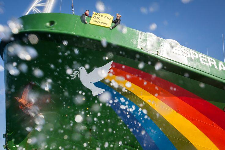 Greenpeace Esperanza - Arctic Ship Tour 2014
