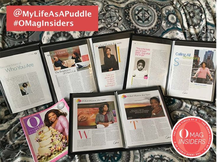 Hyperhidrosis and O, The Oprah Magazine #OMagInsiders – My Life as a Puddle