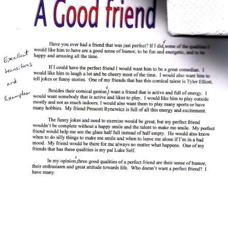 Narrative essay on friendship