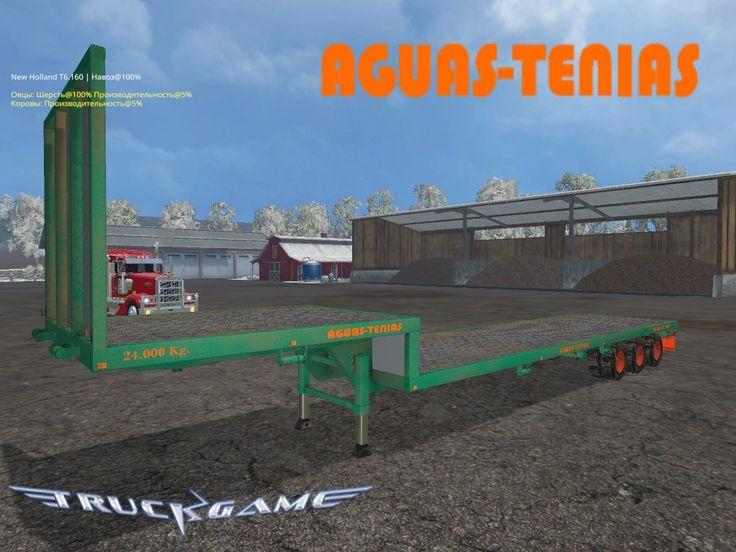 Мод «Aguas Tenias Platform Truck Short 24T» для Farming Simulator 2015— Светотехника, фиксация груза, прицепное, регулируемая рампа, поворотные мосты, следы, пыль. Моется. Установка:Скачанный файл скопировать в папку Мои Документы\My Games\FarmingSimulator2015\mods\ Размер файла:7.7 MB Скачатьv1.0