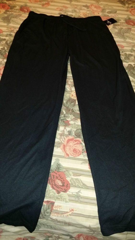 Men's Jockey Active Athletic Lounge Pants Size XL-Long-Black- NWT #Jockey #Pants Price:US $30.00