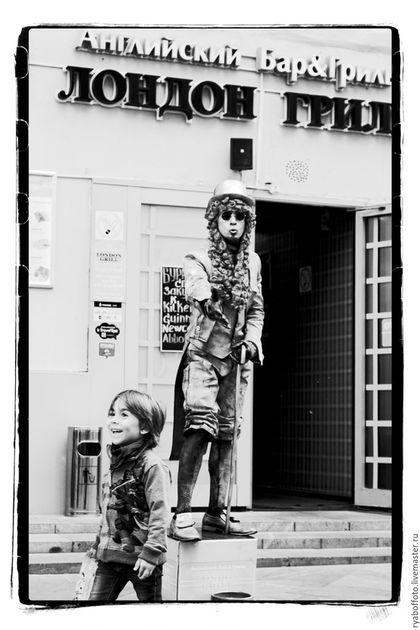 Фото-работы ручной работы. Ярмарка Мастеров - ручная работа. Купить Московский Лондон. Handmade. Черно-белый, город, фотография