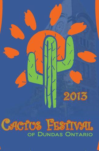 38th Annual 2013 Cactus Festival - Downtown Dundas, Ontario