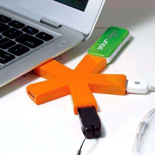Asterisk 4 Port USB Hub