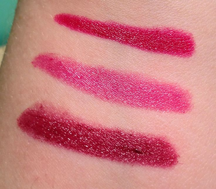 Swatches from Annabelle Cosmetics TwistUp Retractable Lipstick Crayon - Dramatic Bordeaux  http://faestina.blogspot.ca/2013/10/annabelle-cosmetics-twistup-retractable_16.html