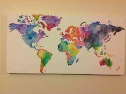 Resultado de imagen para watercolor painting crafts