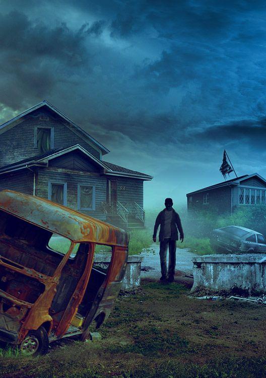 """Darek Kocurek    Darek Kocurek zadebiutował na naszym rynku wydawniczym okładką do powieści Stephena Kinga - """"Desperacja"""", a zdobiąca ją grafika pierw"""