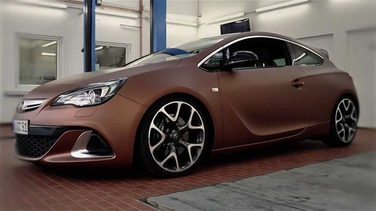 How to wrap a car - OPEL ASTRA OPC - aztec bronze