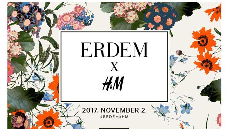 #hmxerdem A H&M bejelentette új, 2017-es designer kollaborációját, méghozzá az ERDEM divatházzal! A márkához illő nőies, romantikus darabok november 2-ától érhetőek el. Fave!