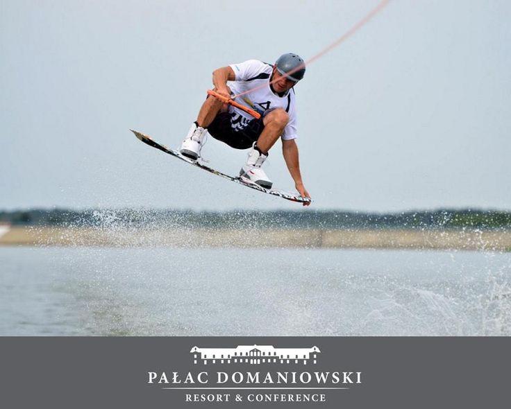 #PalacDomaniowski #ZalewDomaniowski #Marina #WakeBoard