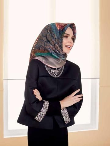 Armine Anna Styles of Hijab with Free Shipping - Beautiful Hijab Styles