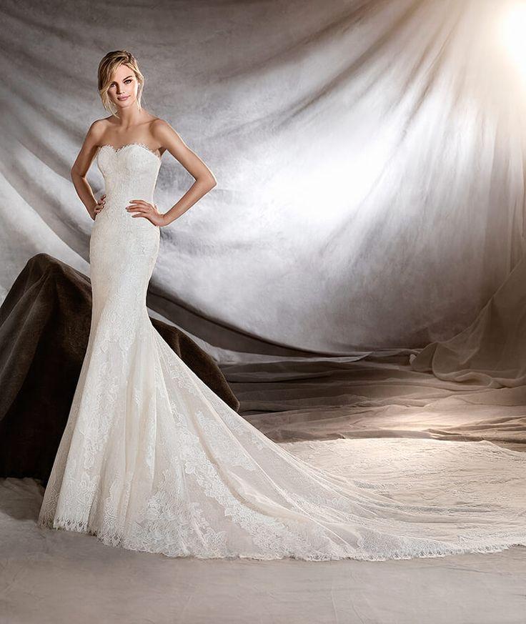 ORILLA - Brautkleid mit schulterfreiem Dekolleté im Meerjungfrau-Stil