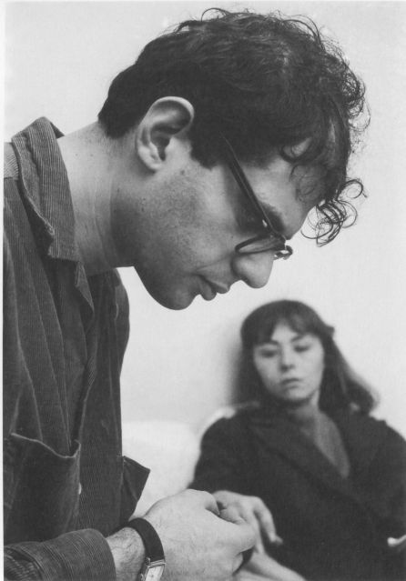 Allen Ginsberg and Lee Forest Paris 1957