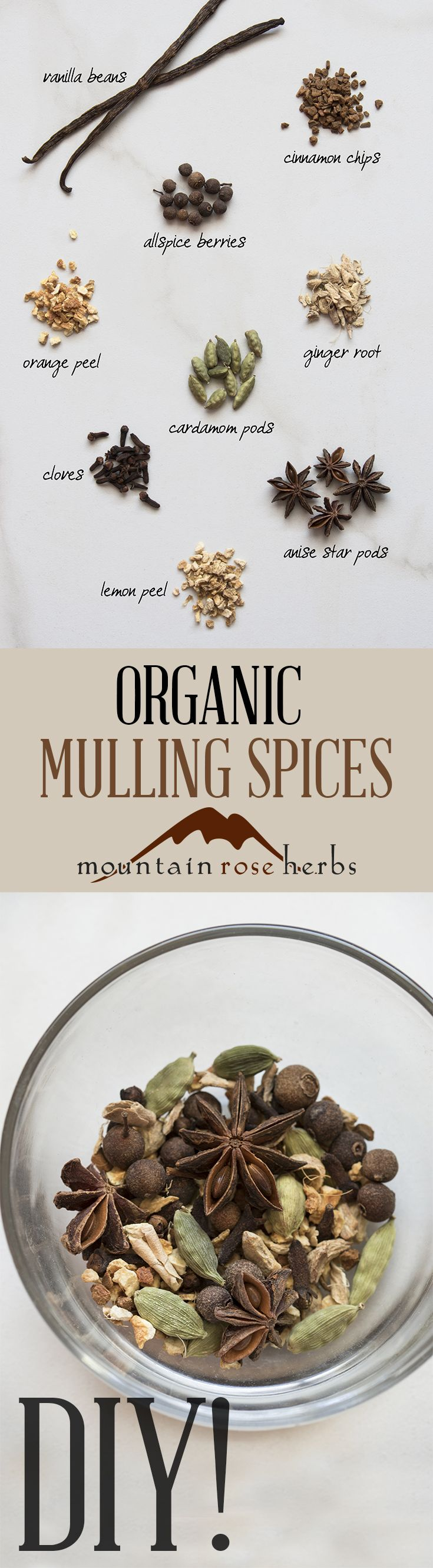 Mulling Spice Recipe by Mountain Rose Herbs                                                                                                                                                                                 More
