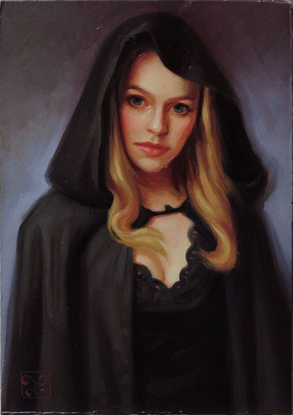 """Clocca"" by Athanasios Deshields (oil painting, alla prima, fine art, traditional, portrait, illustration,faestock)"