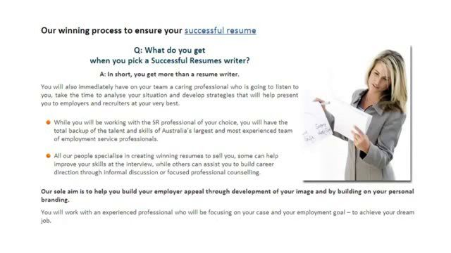 A cover letter is an employeru0027s  - professional resume writing services