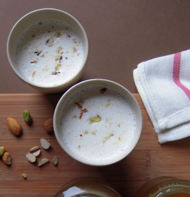 Jyoti's Pages: Thandai ~ Spicy Almond Milk ~ Making Thandai Syrup From Scratch ~ Holi Special