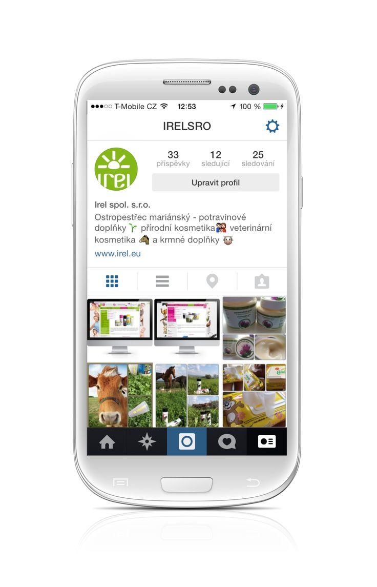 Sledujte nás i na Instagramu @IRELsro